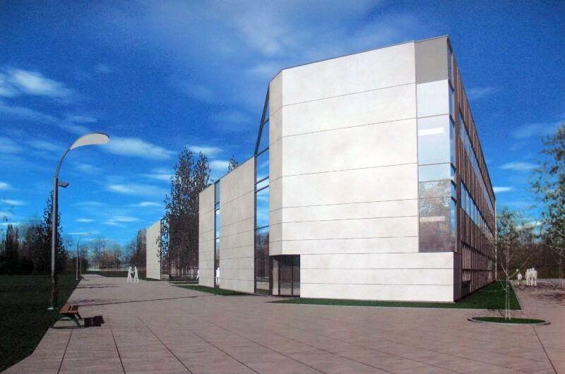 Kretingos rajono savivaldybės M. Valančiaus viešosios bibliotekos vaizdas nuo Rotušės aikštės