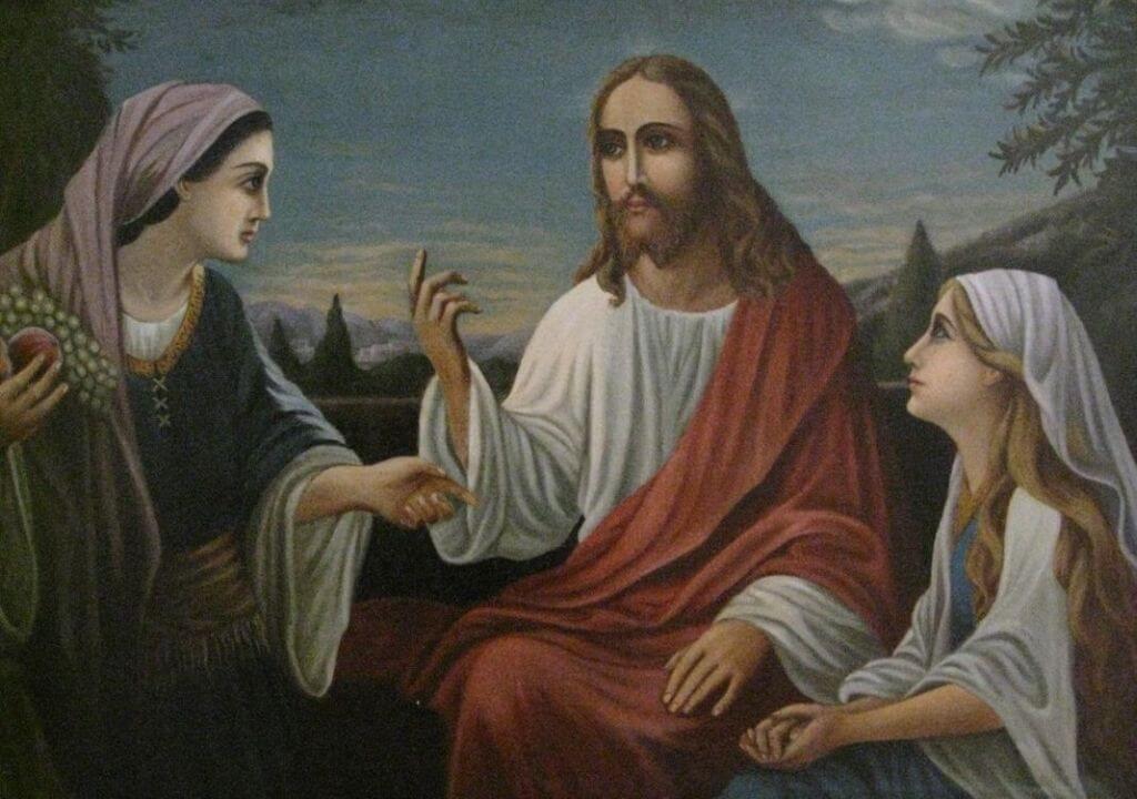 """Barbora Jankauskaitė. """"Jėzus kalbasi su Marija"""""""