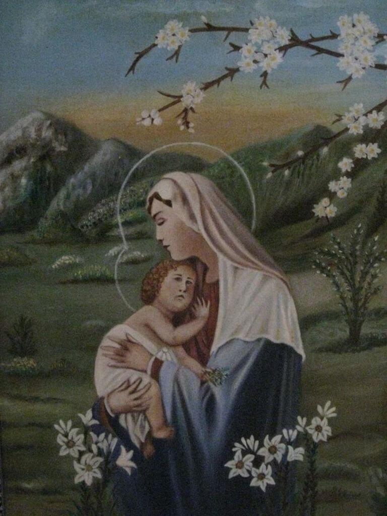 """Barbora Jankauskaitė. """"Marija su kūdikiu"""""""