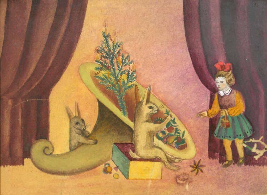 Barbora Jankauskaitė. Piešinys
