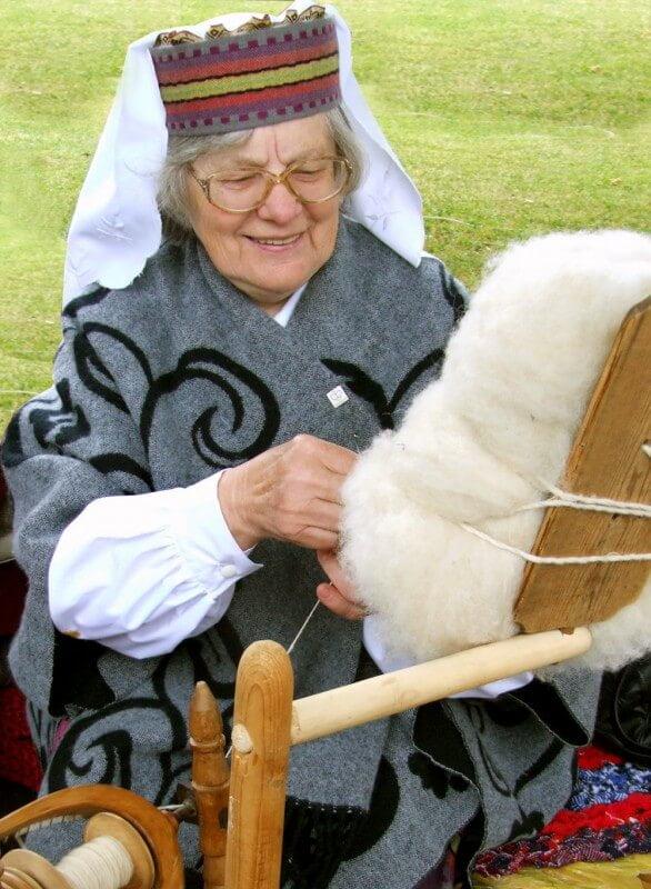 Leokadija Kaukėnienė. J. Klietkutės nuotr., 2008