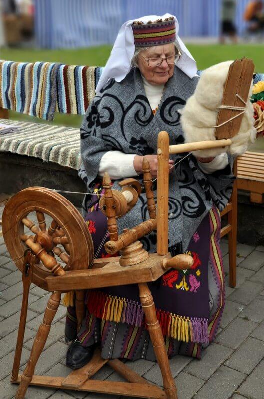 Leokadija Kaukėnienė. J. Klietkutės nuotr., 2009