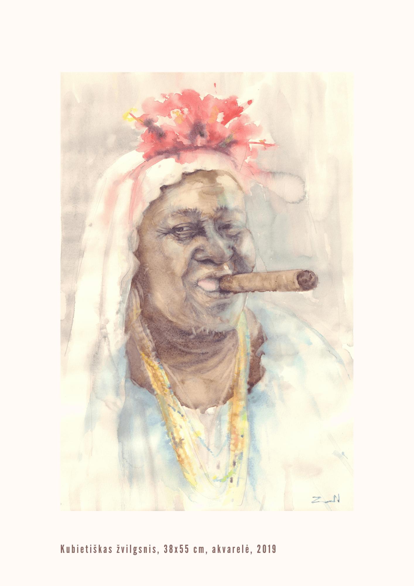 Nijolė Zubienė. Kubietiškas žvilgsnis
