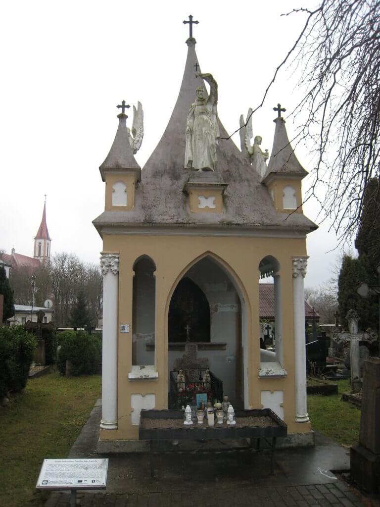 Jurgio Ambraziejaus Pabrėžos kapo koplyčia