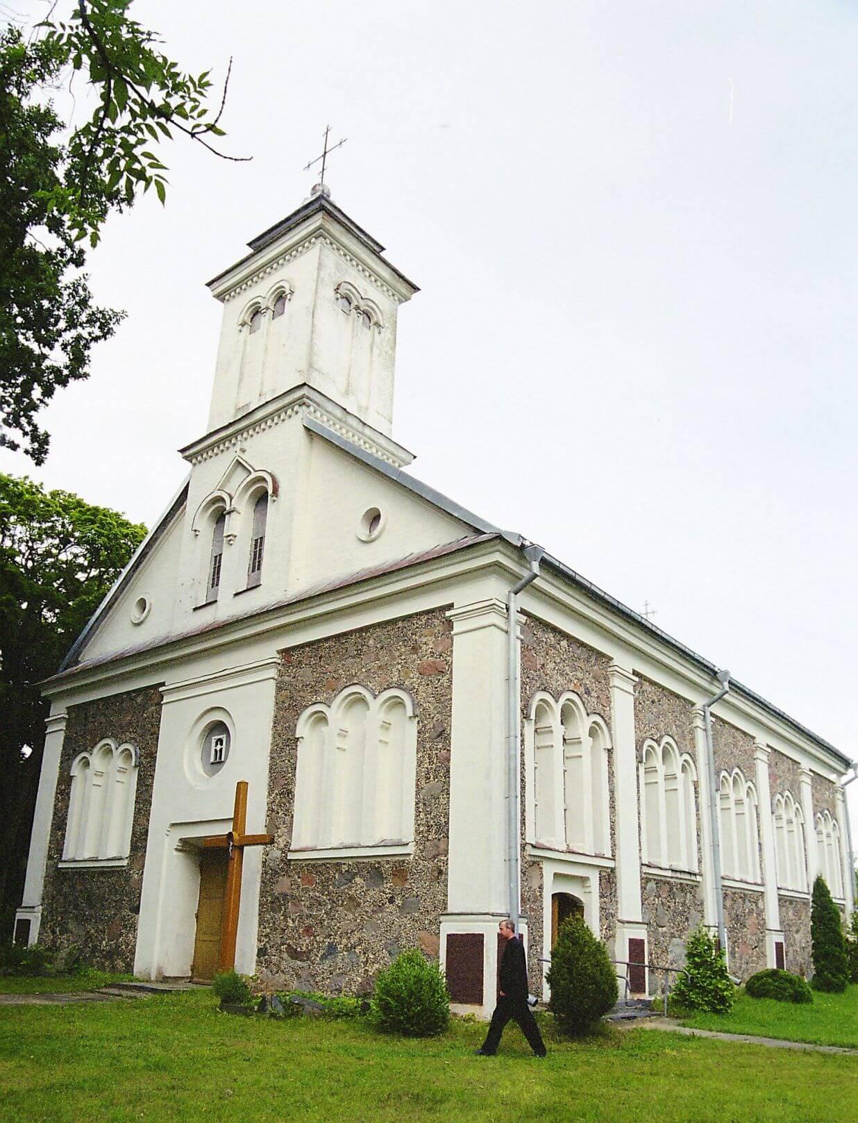 Aleksandrijos Šv. Jėzaus Nukryžiuotojo bažnyčia (Skuodo rajonas)