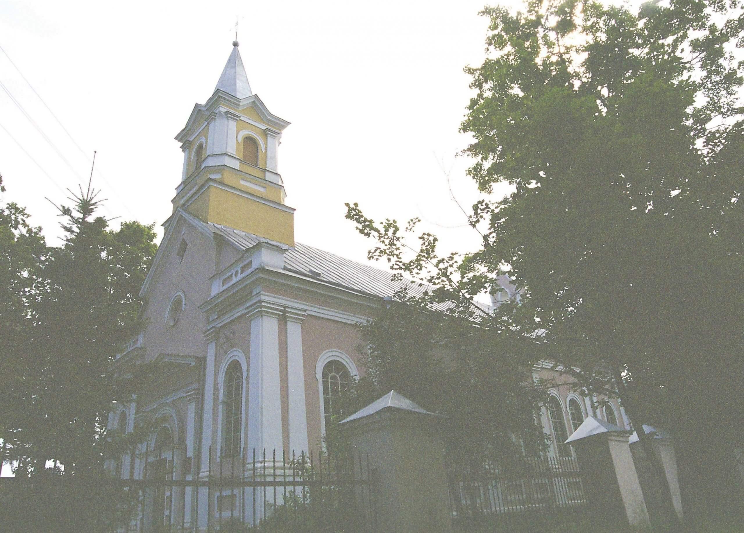 Jėkabpilio Švč. Mergelės Marijos Gimimo bažnyčia (Latvija)