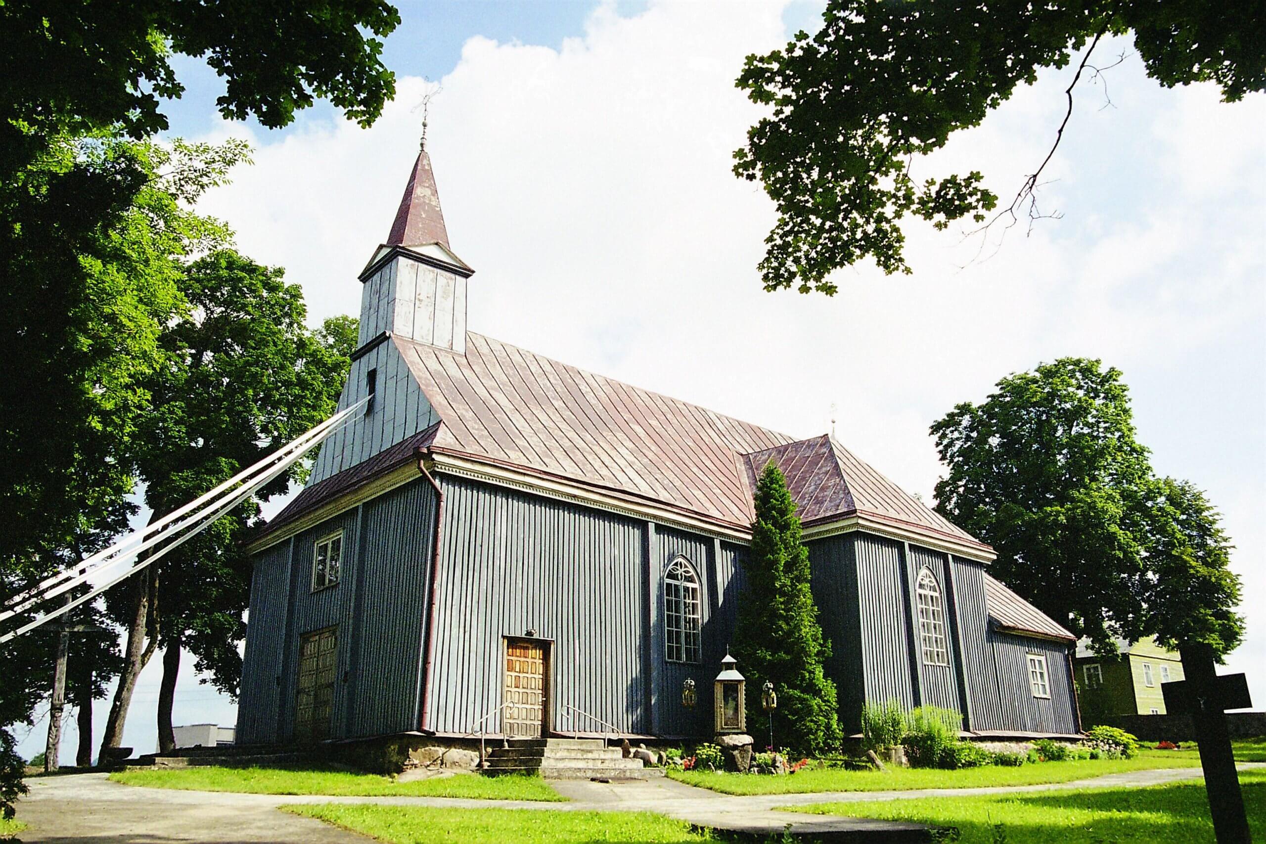 Kantaučių Švč. Mergelės Marijos Nekaltojo Prasidėjimo bažnyčia (Plungės rajonas)