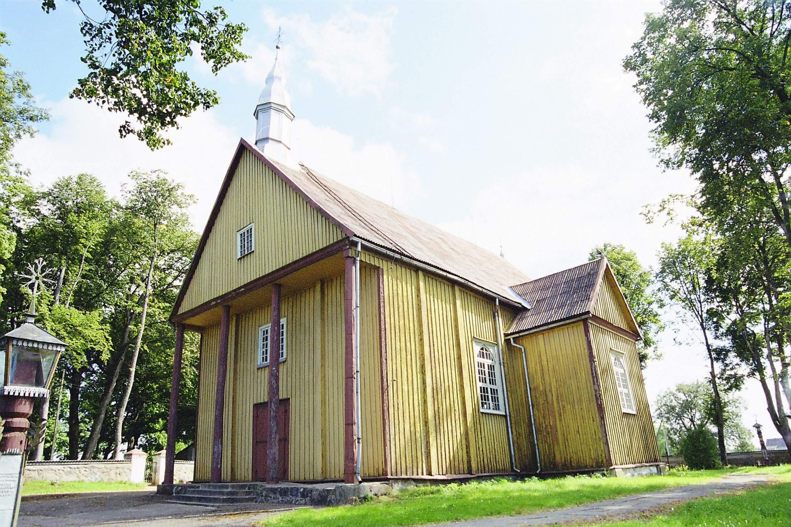 Karklėnų Šv. apaštalo Baltramiejaus bažnyčia (Kelmės rajonas)