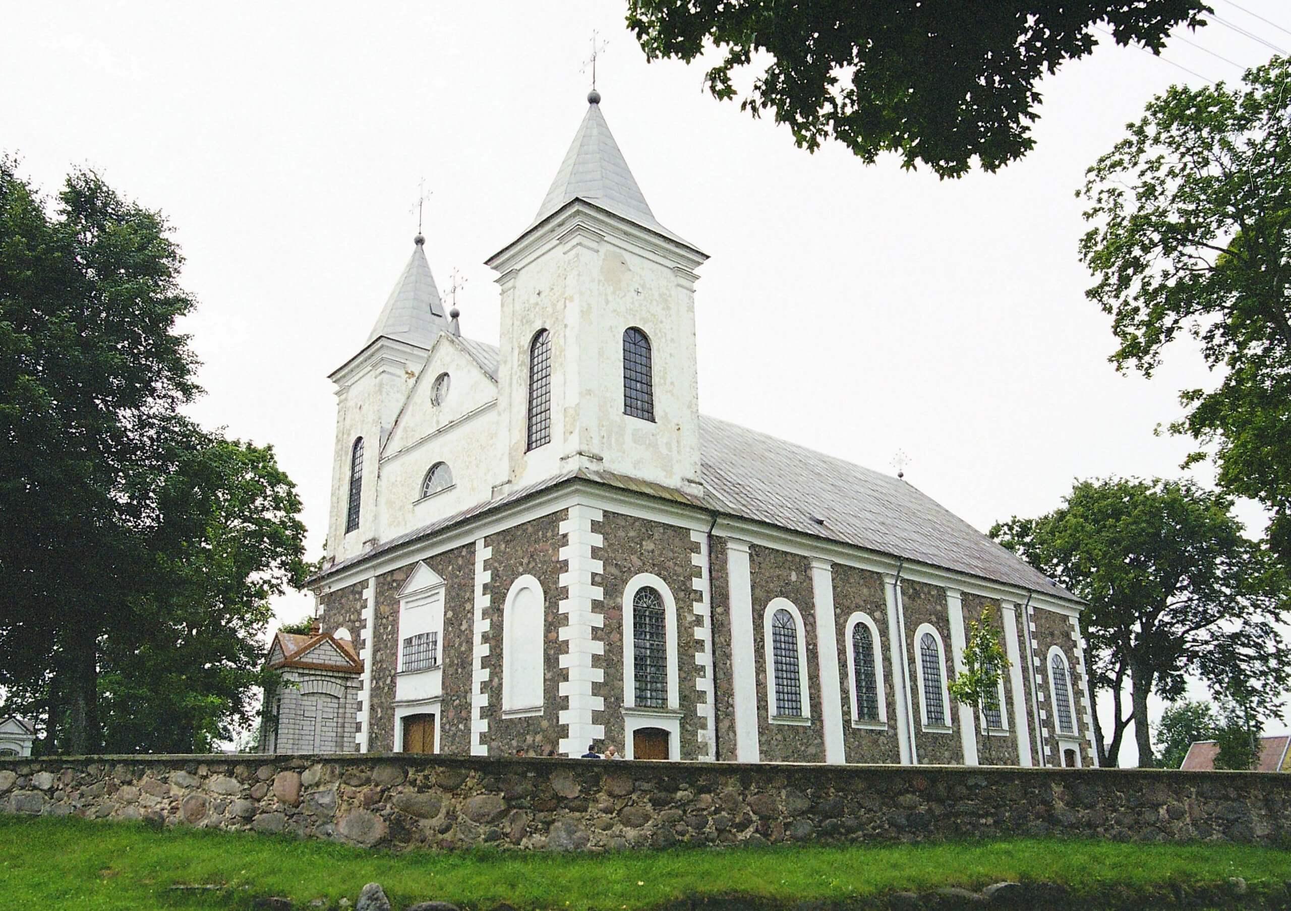 Laukuvos Šv. Kryžiaus Atradimo bažnyčia (Šilalės rajonas)