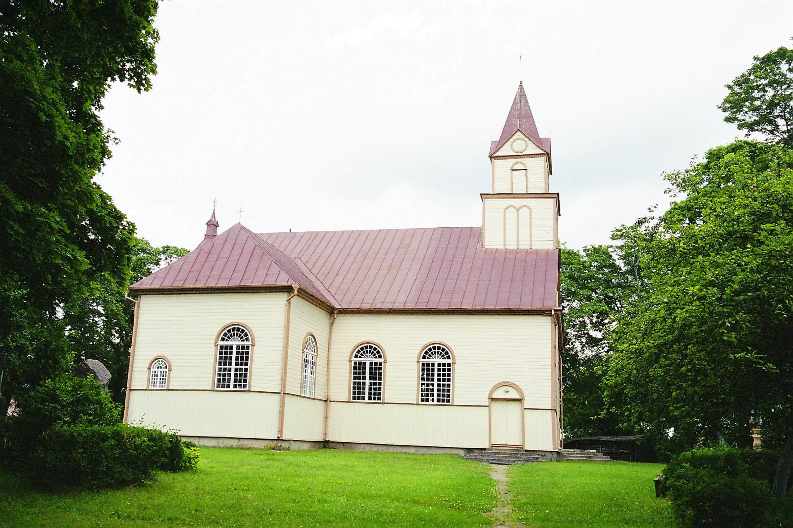 Lieplaukės Šv. Jurgio bažnyčia (Telšių rajonas)