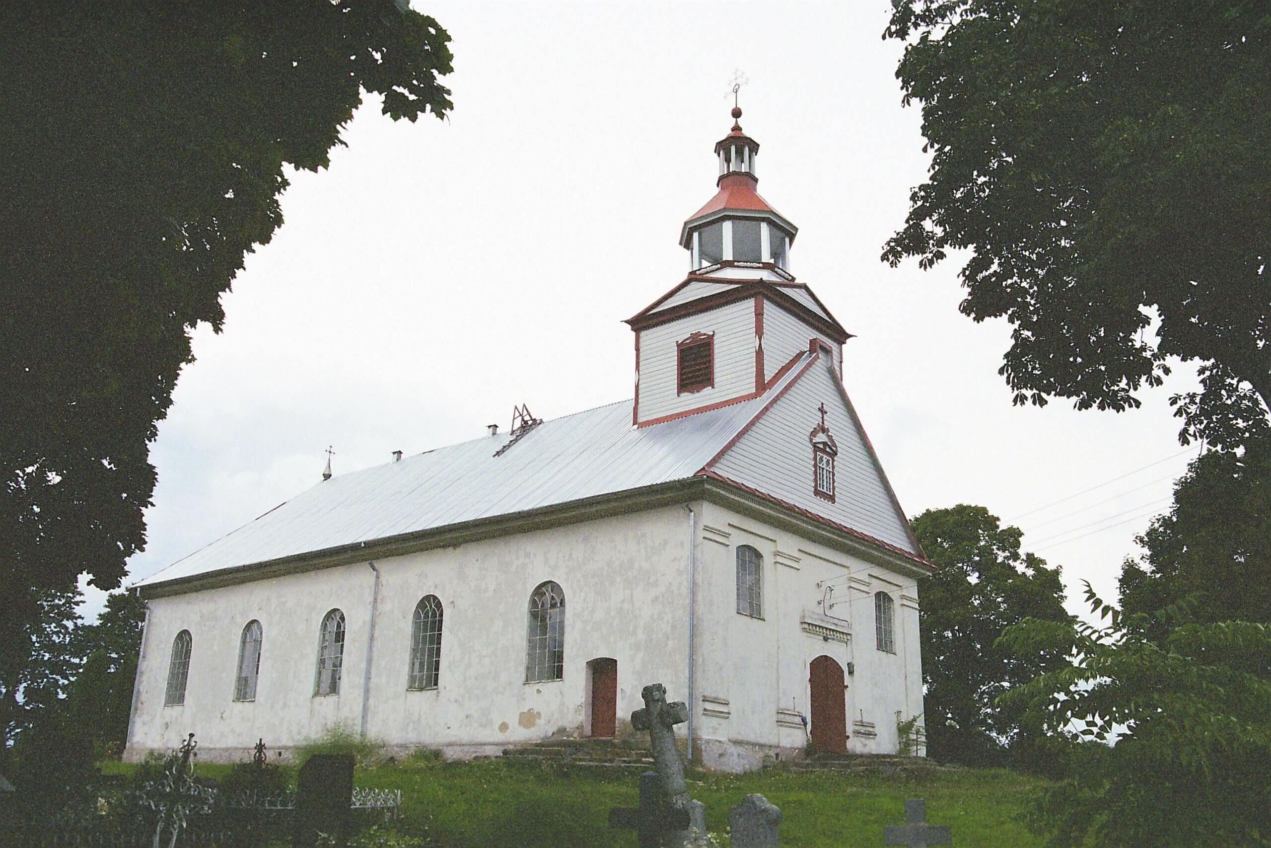 Nerimdaičių Šv. apaštalo Baltramiejaus bažnyčia (Telšių rajonas)