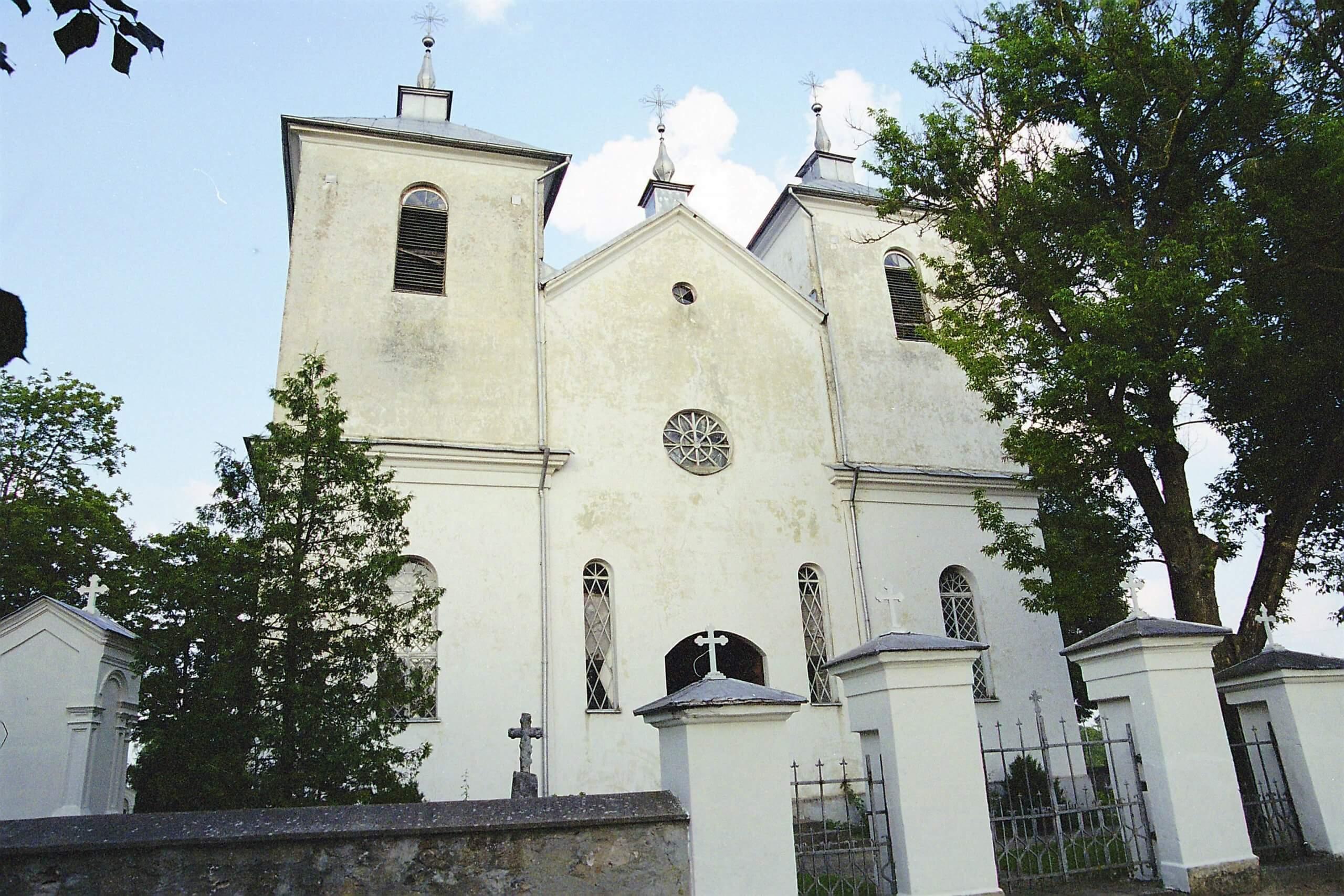 Pašvitinio Švč. Trejybės bažnyčia (Pakruojo rajonas)