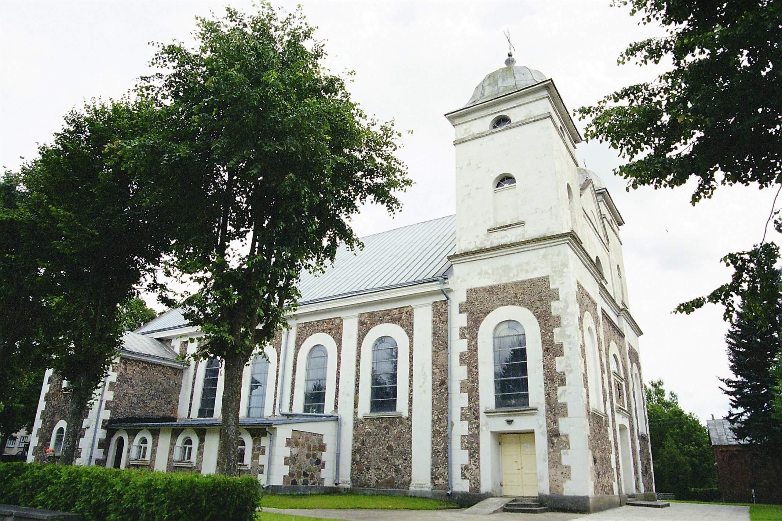 Skuodo Švč. Trejybės bažnyčia