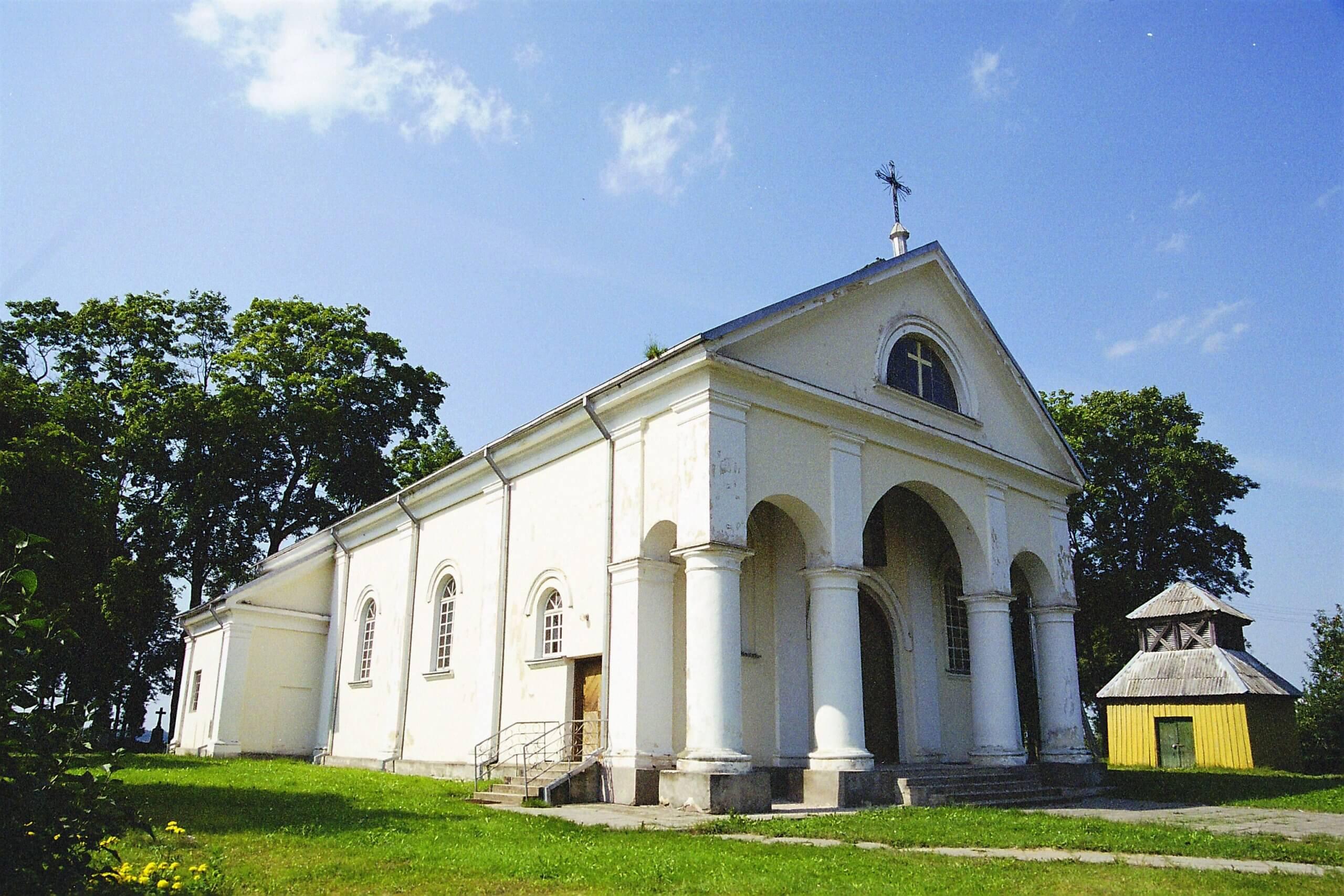 Šlapaberžės Nukryžiuotojo Jėzaus bažnyčia (Kėdainių rajonas)