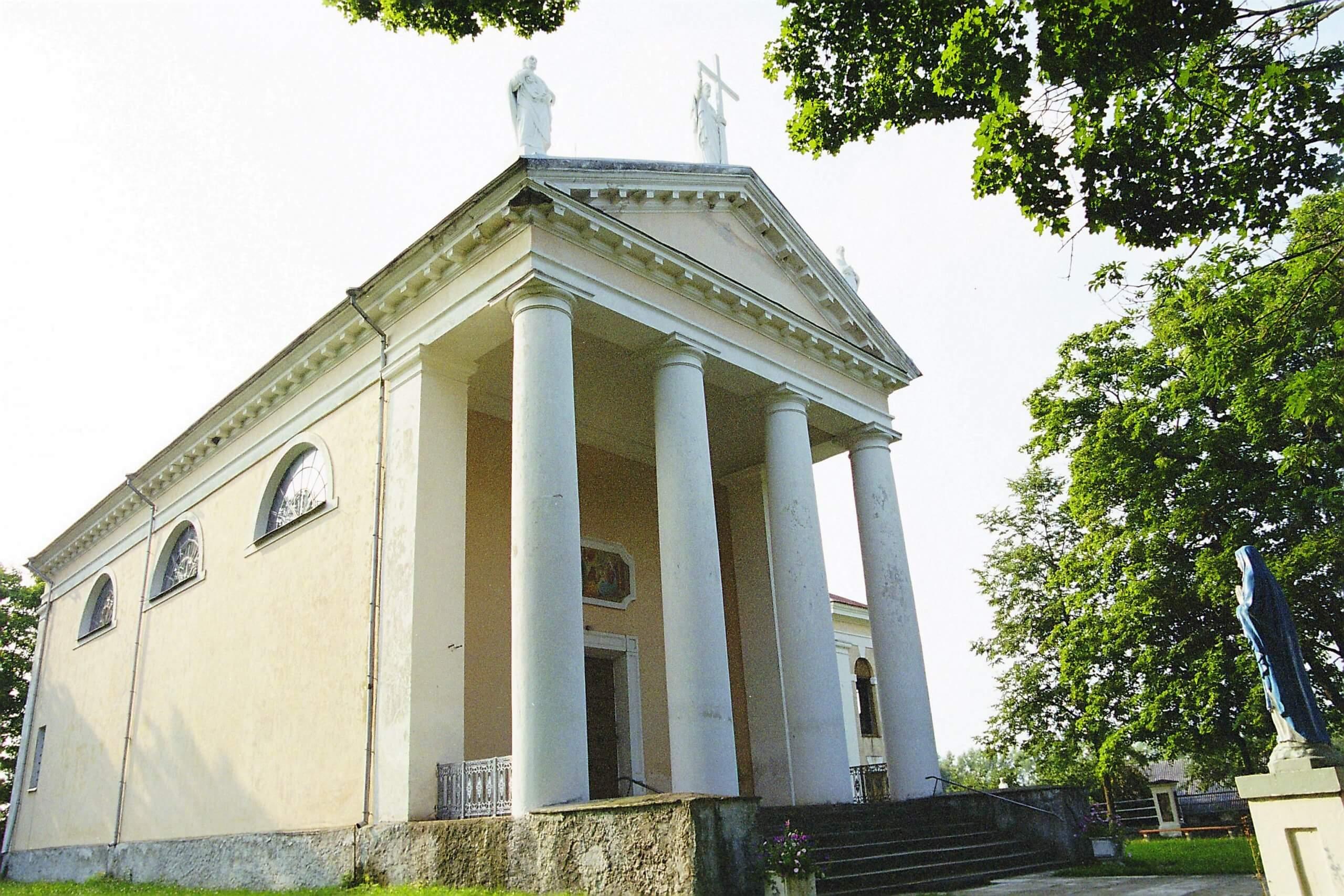Taujėnų Šv. Kryžiaus Išaukštinimo bažnyčia (Ukmergės rajonas)