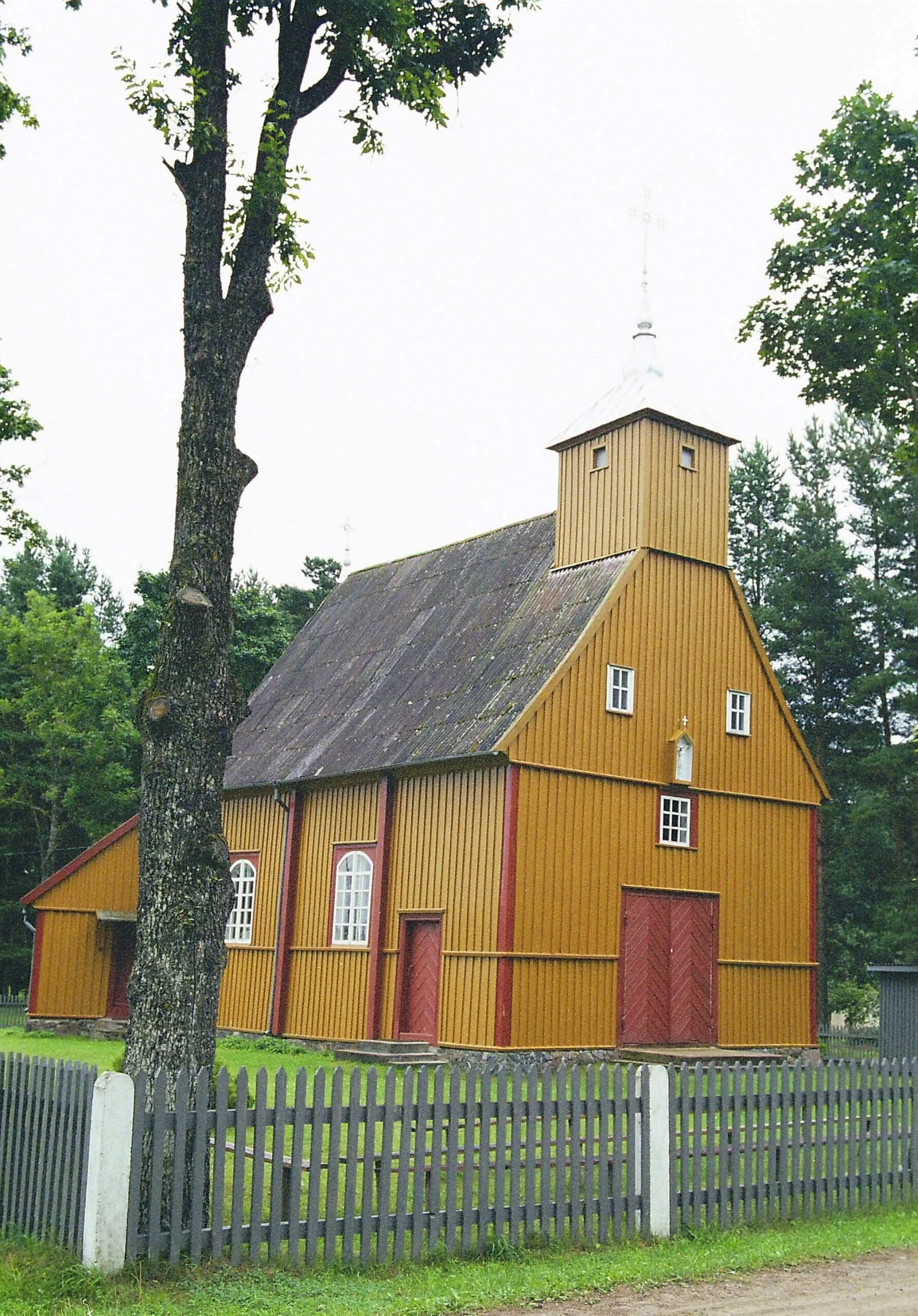 Užlieknės Šv. Marijos Magdalietės bažnyčia (Mažeikių rajonas)