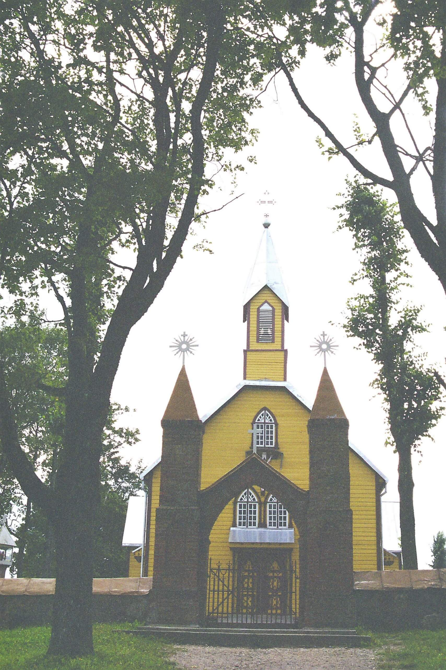 Viešvėnų Švč. Trejybės bažnyčia (Telšių rajonas)