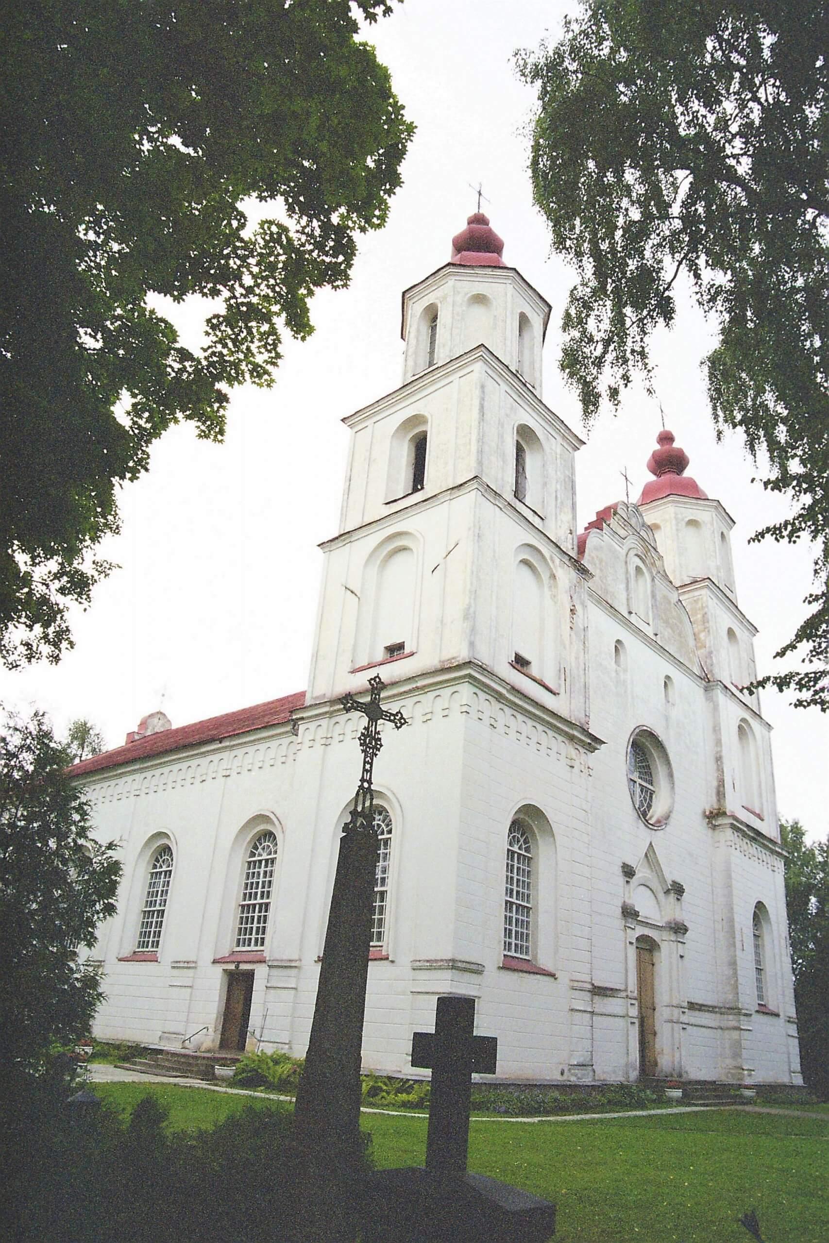Zarasų Švč. Mergelės Marijos Ėmimo į dangų bažnyčia