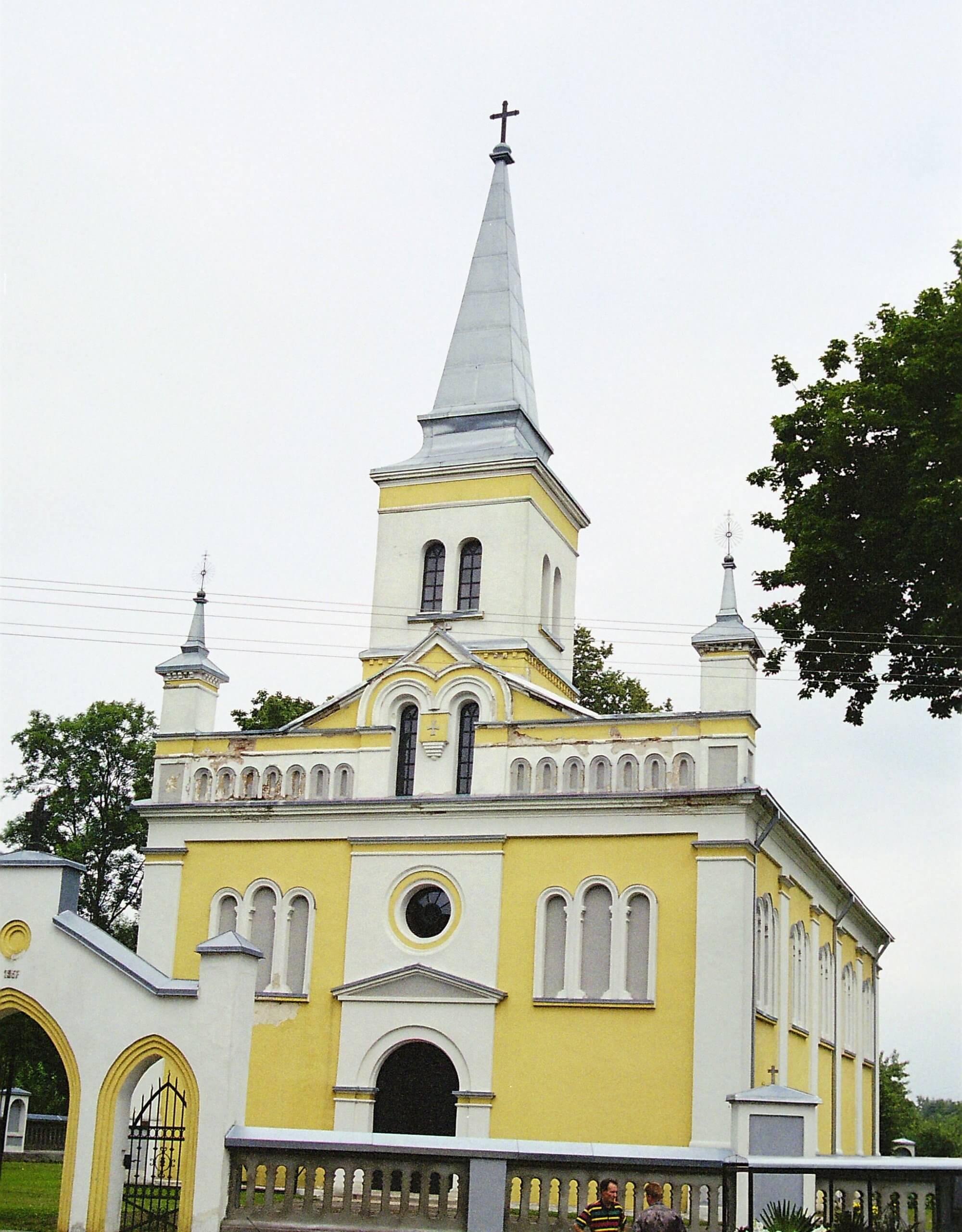 Žygaičių Šv. apaštalų Petro ir Povilo bažnyčia (Tauragės rajonas)